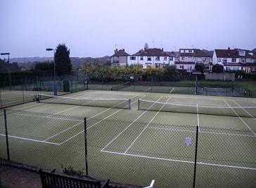 Beauchief Tennis Club in Sheffield
