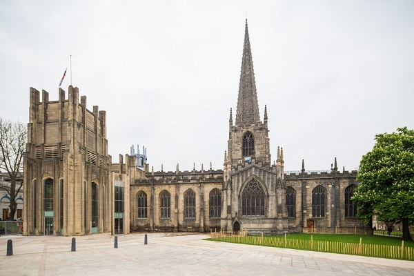Cathedral Church of St. Peter and St. Paul in Sheffield