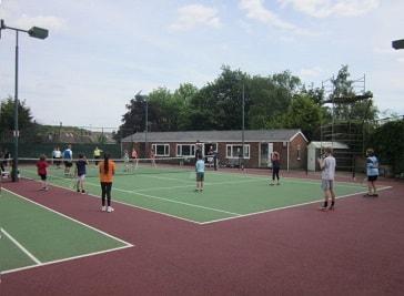 Grove Tennis Club in Sheffield